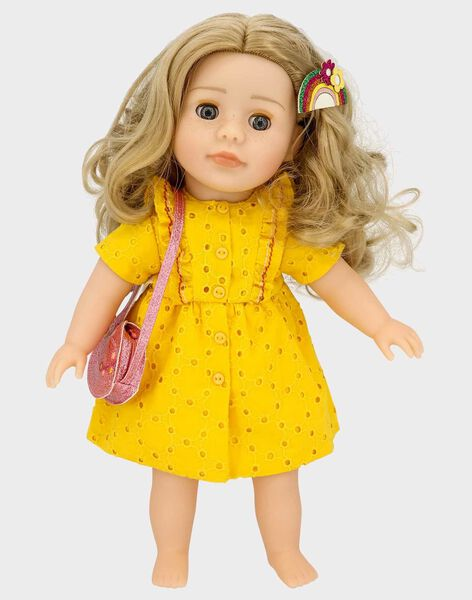 Buntes Festival-Outfit für die Puppe Adèle TATENU5 / 20EZENG1TEN302