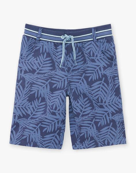 Bermudashorts blau Kind ZUZUAGE1 / 21E3PGL2BER705
