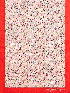 Strandtuch mit Blumendruck für kleine Mädchen TIKOETTE / 20E4PFI2SRV001