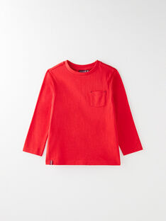 Red T-SHIRT VUNIAGE 3 / 20H3PGC2TML050
