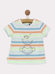 Kurzärmeliges T-Shirt grün RAWAREN / 19E1BGQ1TMC108