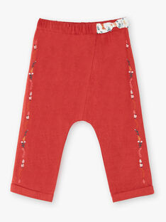 Heather brown PANTS VAKARINE / 20H1BFR1PANI816