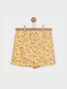 Gelbe Shorts RYFLOETTE / 19E2PFH1SHO010