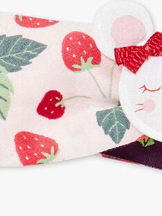Erdbeere gedruckt Stirnband Maus Abzeichen ZAAGATHE / 21E4BFJ1BAN301