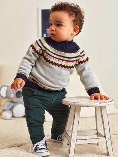 Baby Boy's Tannenbaum-Hose grün BAPETER / 21H1BGM1PAN060