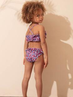 2-teiliger Badeanzug himmelblau Kind Mädchen ZAIROETTE / 21E4PFR3D4L020