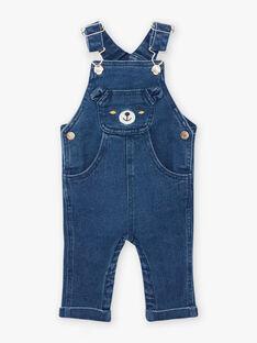Baby Boy Denim Latzhose in Teddybär Druck BAFLOYD / 21H1BG51SALP269