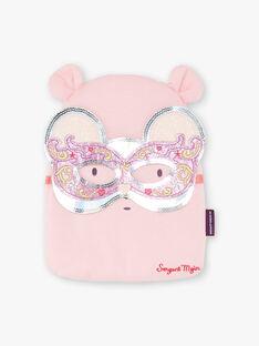 Rosa schicke Pyjamas mit Beutel und Maske Kind Mädchen ZEPYGETTE 3 / 21E5PFF1PYTD326