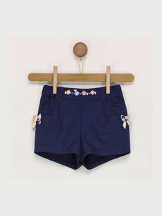 Marineblaue Shorts RAILGA / 19E1BFD1SHO070