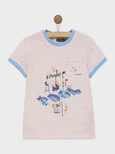 Weißes kurzärmeliges T-Shirt RUADOUAGE / 19E3PGP3TMC000