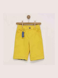 Gelbe Bermuda-Shorts RECIAGE / 19E3PGC1BER412