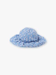 Reversible lavendelblaue Mütze für Kinder und Mädchen ZUVERSETTE / 21E4PFT2CHAC208