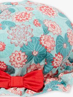 Hut mit Lotusblume bedruckt ZACHOU / 21E4BFI1CHA629