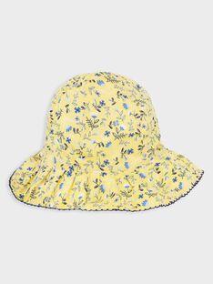 Hut mit Blumendruck für kleine Mädchen TOIFUETTE / 20E4PFO1CHA000