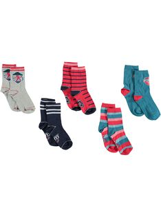 Navy PACK OF 5 PAIRS OF SOCKS VUBLAGE / 20H4PGC1LC5070