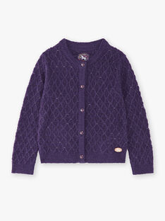 Purple CARDIGAN VLIMOETTE / 20H2PFS1CAR718