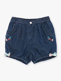 Dunkelblaue Denim-Shorts ZACHARLINE / 21E1BFI1SHOK005