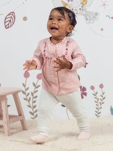Baby Mädchen rosa Bluse und Leggings Set BAGULIE / 21H1BF91ENSD329