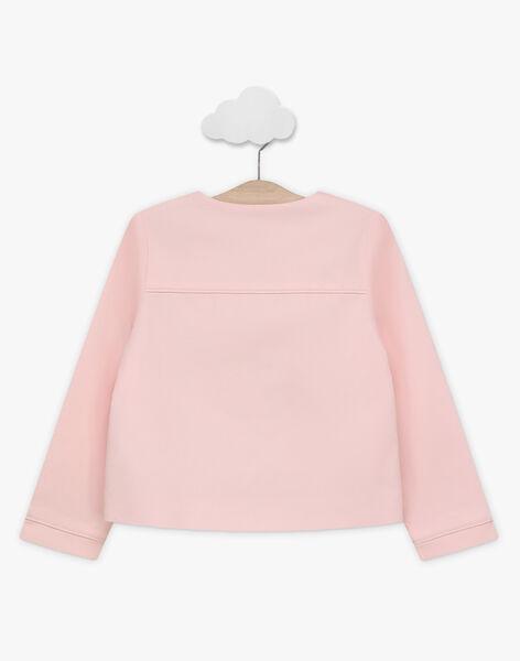 Jacke für besondere Anlässe für Mädchen, rosa TYGOETTE / 20E2PFJ1VES321
