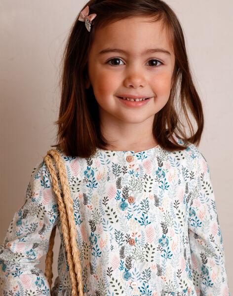 Kinderkleid Mädchen ZAROBETTE / 21E2PF71ROB009