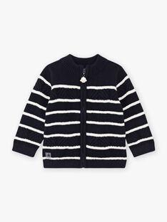 Baby Boy's Fancy Stripe Strickweste BANELSON / 21H1BGL1GILC205