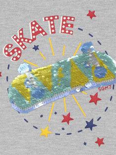 Grau meliertes Sweatshirt REAGE / 19E3PGC4SWE943