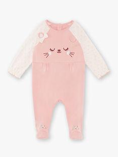 Baby Mädchen rosa Strampler ZECHLOE / 21E5BF14GRED323