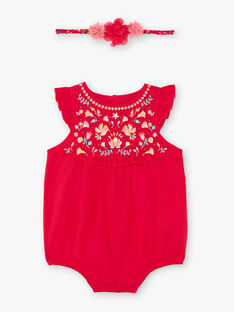 Baby Girl's Raspberry Headband und Tote TASONIA / 20E1BFQ1BARF510