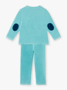 Pyjamas mit phosphoreszierenden Details für Kinder und Jungen ZEBARAGE / 21E5PG13PYJ204