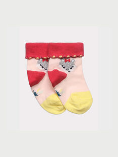 Rosa Socken RADYNA / 19E4BF61SOQ301