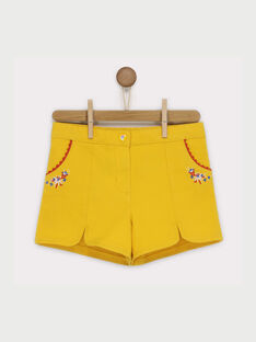 Yellow Shorts RAFONIETTE / 19E2PFC1SHO107
