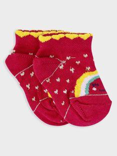 Baby-Söckchen für Mädchen TAIVANA / 20E4BFG1SOB302