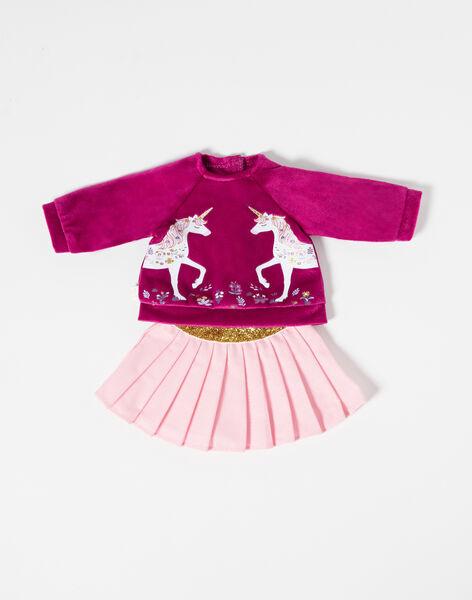 Purple DOLL CLOTHES TENUE07 / 20J7GF15HPO709