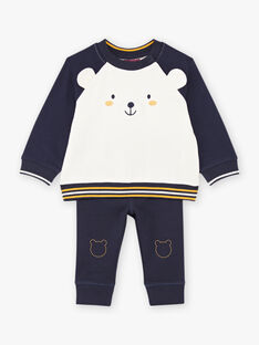 Baby Boy's Teddy Bear Pullover und Hose Set BAFELIPE / 21H1BG51ENS070