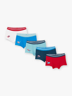 5 sortierte Boxershorts für Jungen mit Automotiven BEMAINAGE / 21H5PG81BOXC232