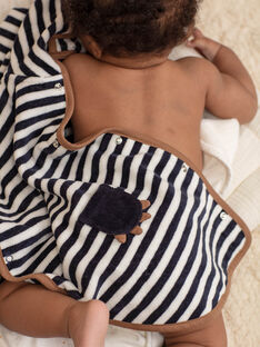 Gestreifter Badeumhang für Baby-Jungen BEARNOLD / 21H5BG61CDB715