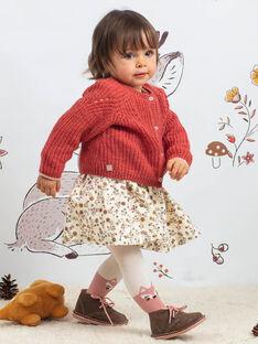 Baby Mädchen rosa Weste BAIRIS / 21H1BFJ1CARD332