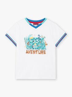 Weißes T-Shirt mit Tierprint ZABLOAGE / 21E3PGJ1TMC000