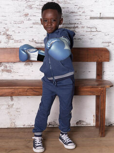 Baby Junge marineblaue Jogginghose BANUAGE1 / 21H3PG34JGBC212