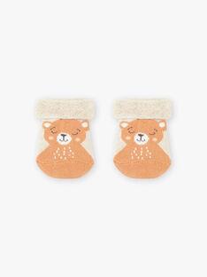 Baby Junge Teddybär-Socken BALULU / 21H4BGJ2SOQ811