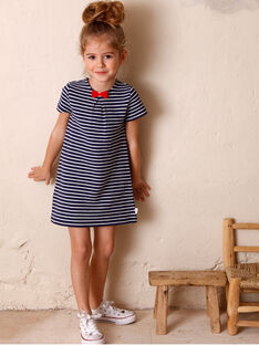Kinderkleid Mädchen ZORUETTE / 21E2PFB3ROB632