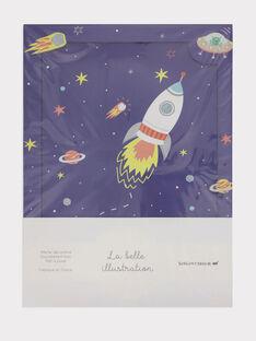 Marineblaues Poster ROFUSEAFF / 19EZENX1AFFC204