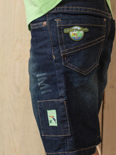 Bermuda-Shorts aus mittlerem Denim für Jungen TUYAGE / 20E3PGX3BERP274