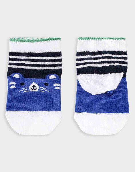 Blaue Baby-Socken Jungen TALUKE / 20E4BGH1SOQ070