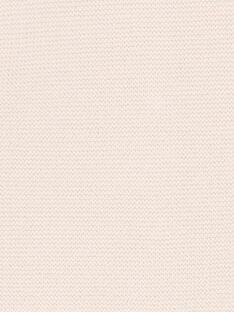 Hellrosa schicke Strickweste ZACARINE / 21E1BFI1CARD319