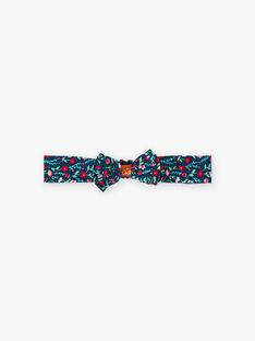 Baby Mädchen Ente Blau Floral Print Stirnband BAGUSTA / 21H4BF91BAN714