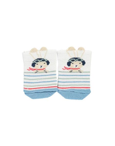 Kurze Socken weiß RAPACO / 19E4BGH1SOB000