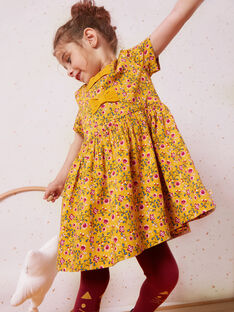 Yellow DRESS VIBORETTE / 20H2PF62ROB107