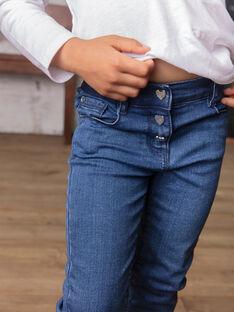 Baby Mädchen mittlere Denim-Jeans BROGINETTE2 / 21H2PFB1JEAP274