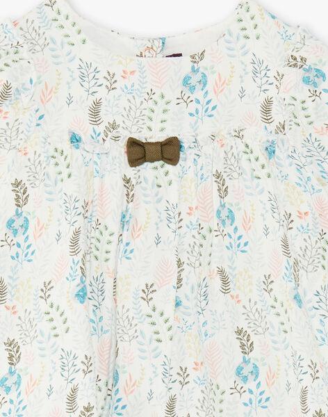 Baby-Mädchen-Kleid ZABETSY / 21E1BF71ROB009